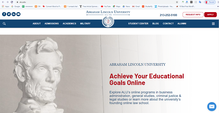 On-line Law Schools in California