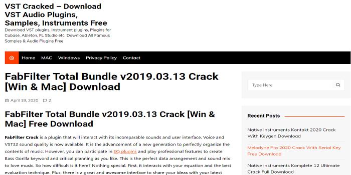Fabfilter Bundle Crack Torrent – Fabfilter Crack Download