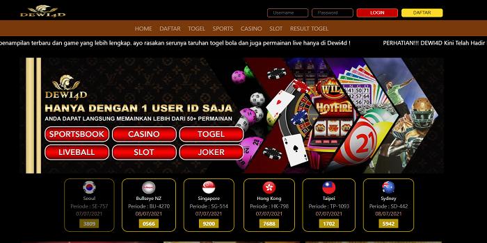 Togel Per Slot Games Sbobet